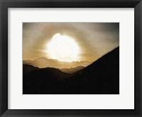 Framed Sunrise I