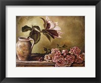 Framed Magnolia with Roses II