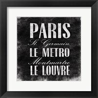 Paris1 Framed Print
