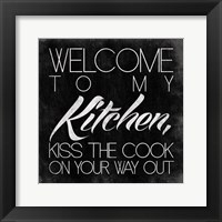 Kitchen II Framed Print