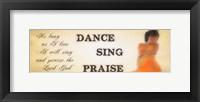 Praise 1 Framed Print
