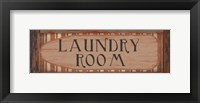 Laundry Room 1 Framed Print