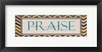 Praise 2 Framed Print