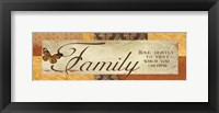 Cherish Family Framed Print