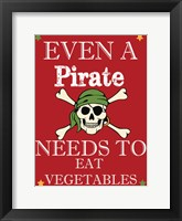 Framed Pirate Must Eat