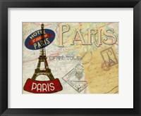 Vintage Parise Framed Print