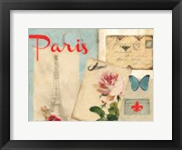 Amour Parise 2 Framed Print