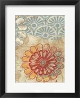 Flora Trance V Framed Print
