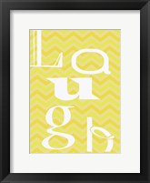 Laugh 3 Framed Print