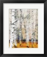 Saffron Timber Panel IB Framed Print