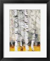 Saffron Timber Panel IIB Framed Print