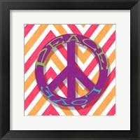 Framed Chevron Peace
