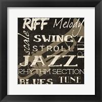 Swing Silhouette Framed Print
