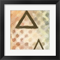 Abstract Triad IV Framed Print