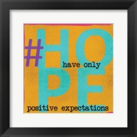 Hope 3 Framed Print
