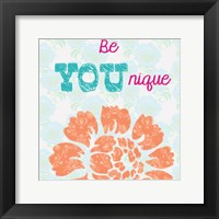 Be You Nique Framed Print