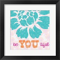 Be You Tifule Framed Print
