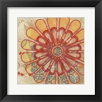 Flora Trance III Framed Print