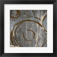 Amani Circles II Framed Print