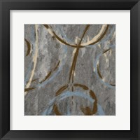Amani Circles I Framed Print