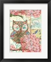Framed Owl A