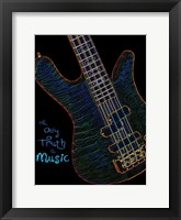 Framed Neon Bass 2