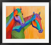 Framed Horses of Color
