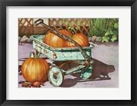 Framed October Harvest