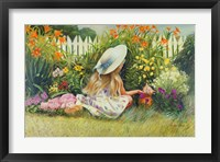 Framed In Mother's Garden