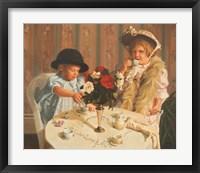 Framed Tea For Two