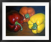 Framed Peppers