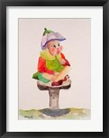 Framed Leprechaun Mushroom