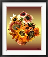 Framed Sunflower 7