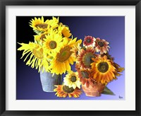 Framed Sunflower 16