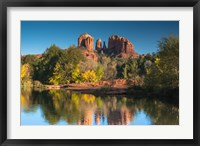 Framed Red Rock Crossing