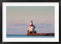 Framed Wisconsin Point Lighthouse, Superior, Wisconsin