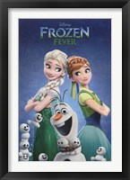 Framed Frozen Fever - One Sheet