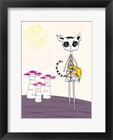 Framed Lemur