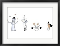 Framed Circus Animals