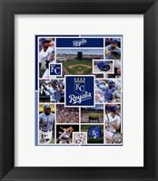 Framed Kansas City Royals 2015 Team Composite