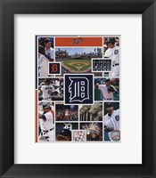 Framed Detroit Tigers 2015 Team Composite