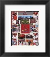 Framed St. Louis Cardinals 2015 Team Composite