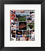 Framed Baltimore Orioles 2015 Team Composite