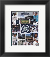 Framed Seattle Mariners 2015 Team Composite