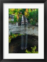 Framed Fall Creek Falls