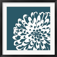 Framed Graphic Flower 1