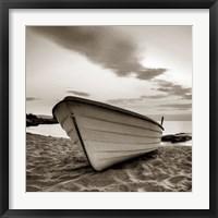 Framed Boat on the Beach