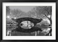 Framed Bridge in Winter