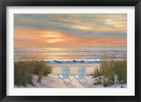 Framed Paradise Sunset