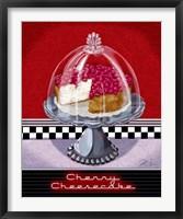 Framed Cherry Cheesecake